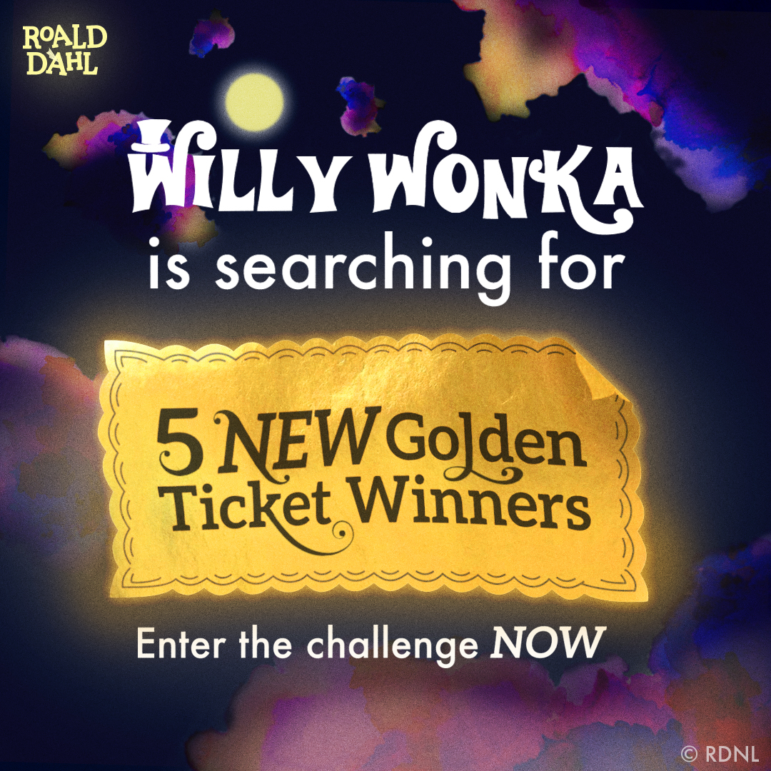 World Book Day marks the launch of Roald Dahl's Imaginormous Challenge!