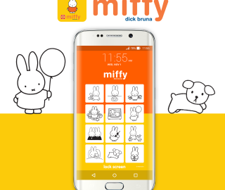 Miffy Lock Screen App Targets Older Fans