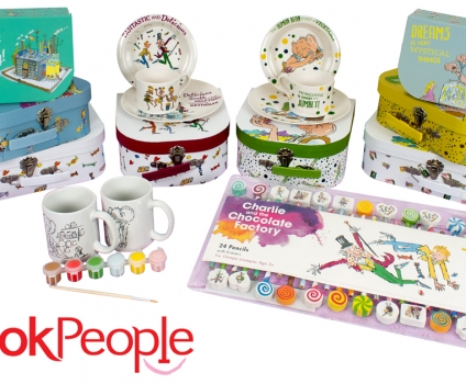 The Book People launch exclusive Roald Dahl gift collection